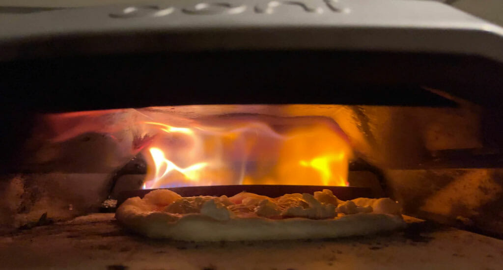 Pizza Making At Home in Ooni
