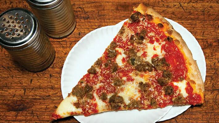 Norwegian Pizza with ground beef