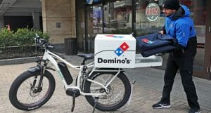 dominos pizza delivery post pandemic