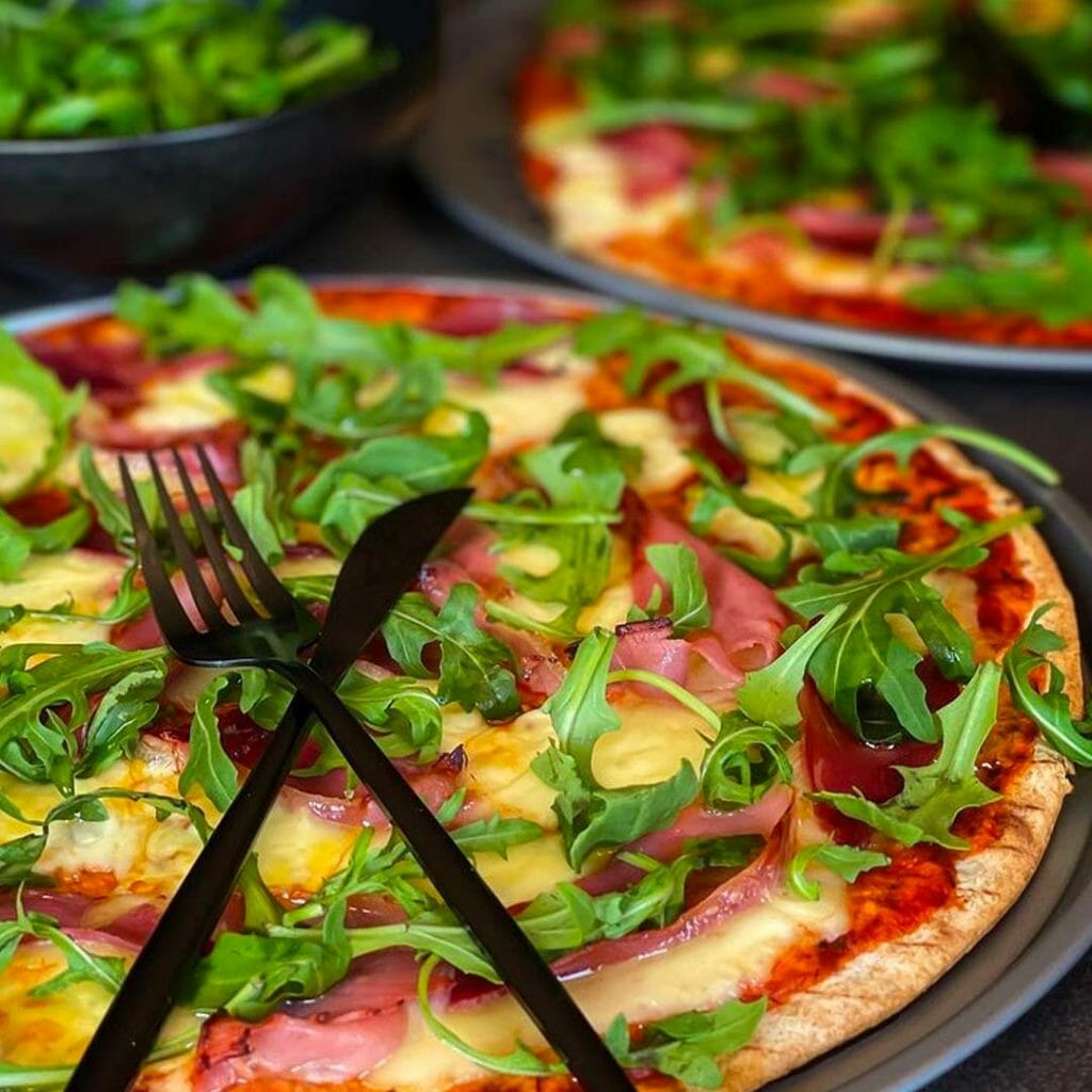 Prosciutto & Rocket Pizza