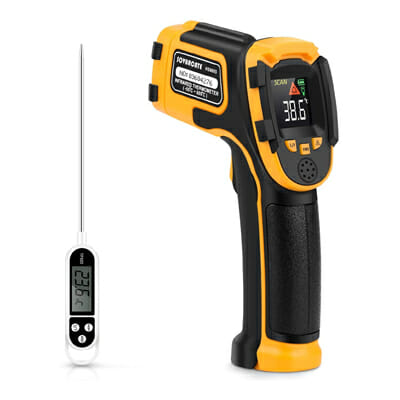 SOVARCATE Infrared No Touch Digital Laser Temperature Gun