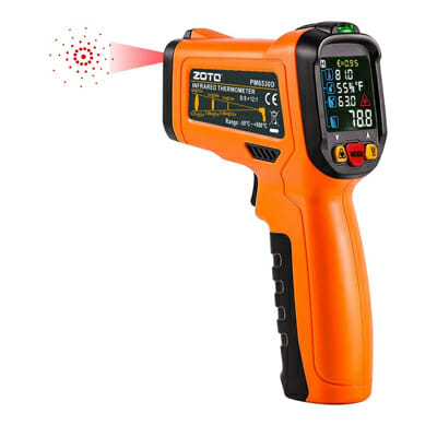 ZOTO Digital Laser Infrared Thermometer