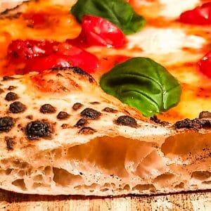 Cooked Sourdough Pizza
