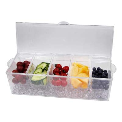 MorTime Ice Chilled Condiment Server